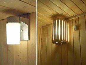 Include wall light and compact shade