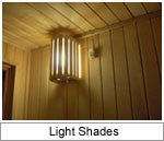 Superior Sauna Light Shades