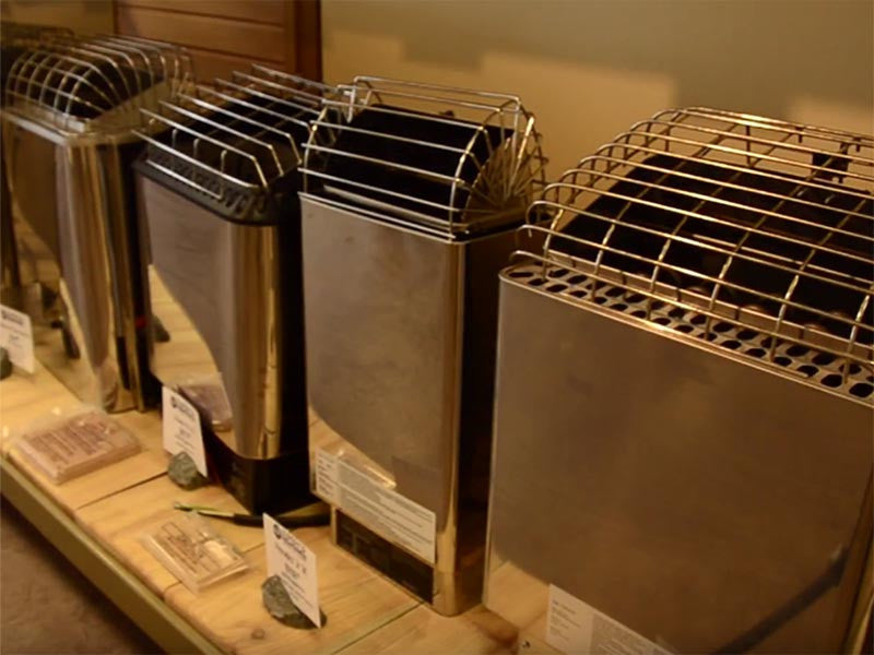 Sauna Heater Showroom