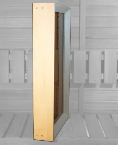 Aspen Sauna Window 18 x 32 Bronze - Superior Saunas