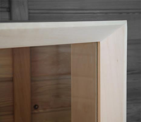 Aspen Sauna Window 18 x 32 Clear - Superior Saunas