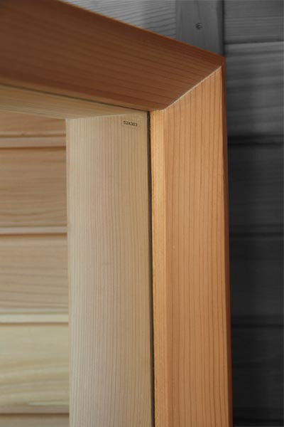 Superior Saunas: Window - Cedar Sauna Window 18 x 32 Bronze