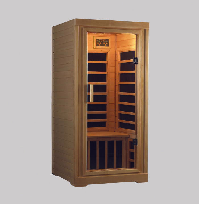 Superior Saunas: Infrared Sauna - Polar 1 Person IR Sauna