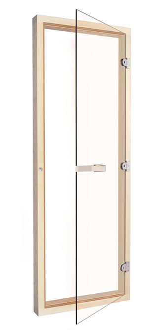 "Superior Saunas: Sauna Door - Aspen All Glass Door 24"" x 72"""