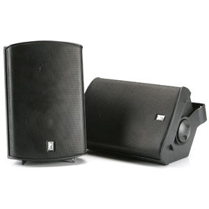 Superior Saunas: Audio - Deluxe Sauna Speakers Black