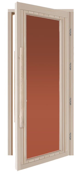"Superior Saunas: Sauna Door - Aspen Full Bronze Glass ADA Door 36"" x 80"""