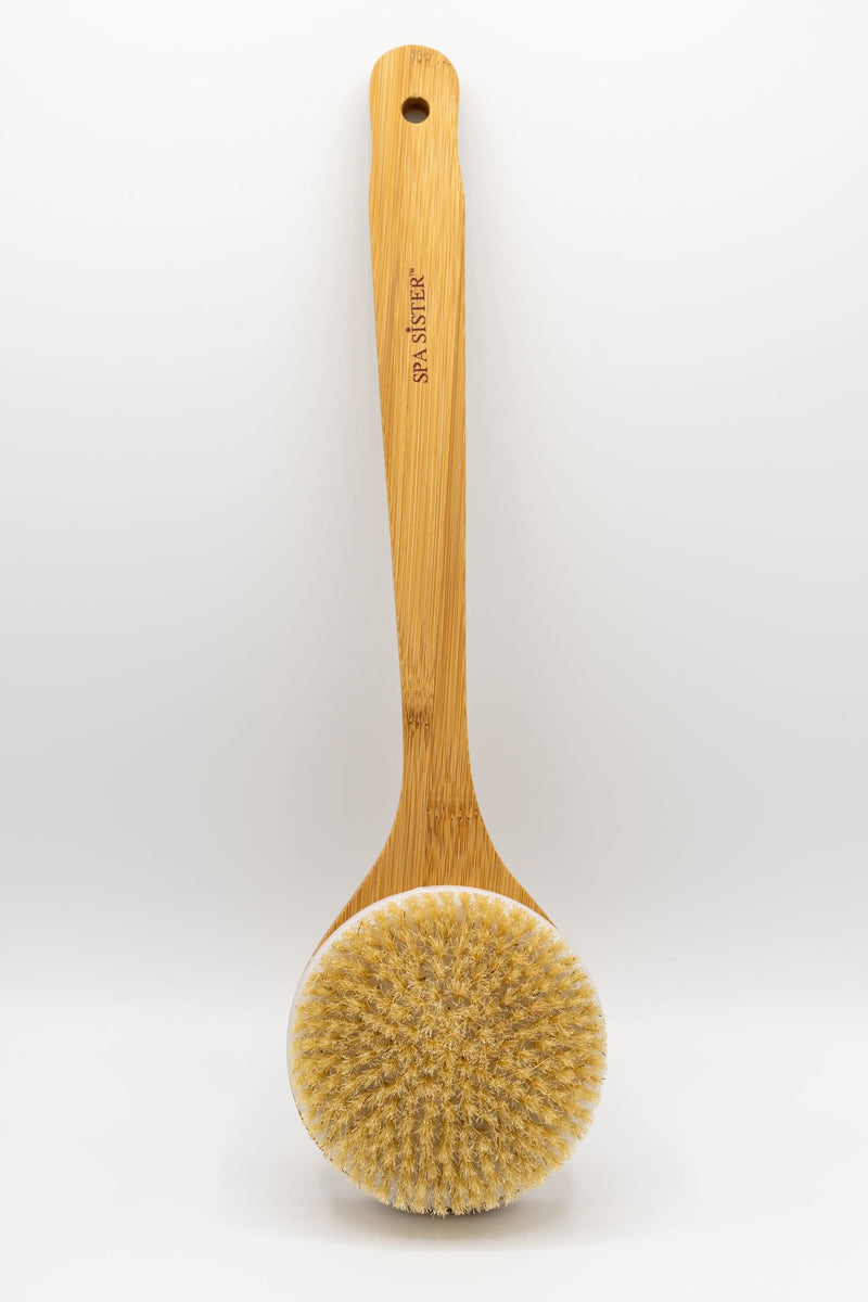 Superior Saunas: Sauna Brush - Bamboo Sauna Brush