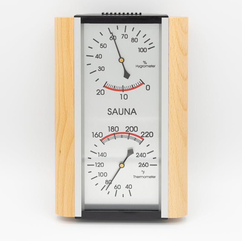 Superior Saunas: Thermometer - Deluxe Thermometer and Hygrometer