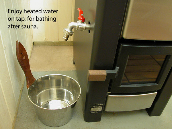Superior Saunas: Sauna Heater - Karhu 18PKES With Water Tank