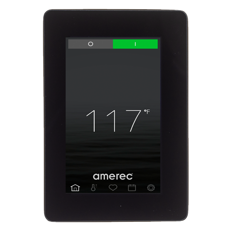 Superior Saunas: Steam Control - Amerec Elite Touch Steam Control Panel
