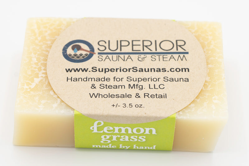 Superior Saunas: Sauna Soap - Lemongrass Handmade Soap