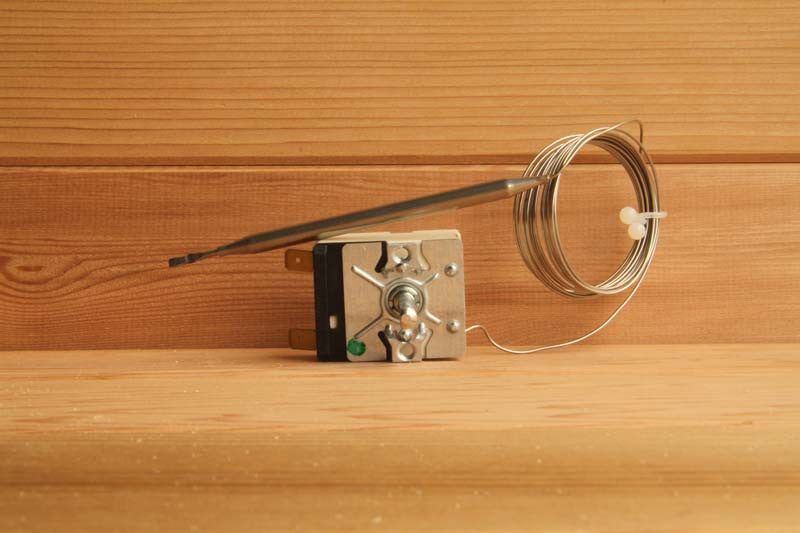 Thermostat with capillary bulb for Saunatec Heaters, OLHE-5