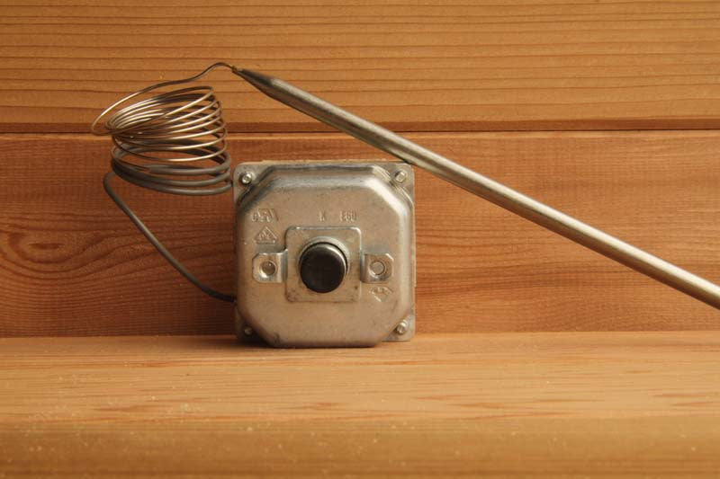 Superior Saunas: High Limit / Reset - High Limit Reset Switch for Saunatec Sauna Heaters, ORHE-11/2