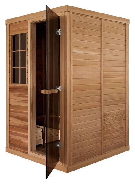 Superior Saunas: Modular Sauna - Red Cedar 2 Person