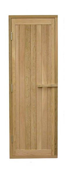 Superior Saunas: Sauna Door - Red Cedar-All Wood Door