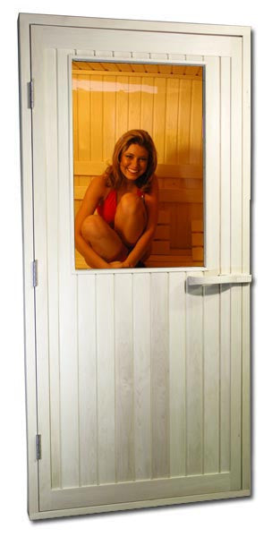 "Aspen Half Glass ADA Door 36"" × 80"" - Superior Saunas"