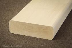 Superior Saunas: Sauna Lumber - Basswood 2 x 6 Bench Stock