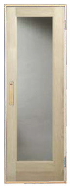 Superior Saunas: Sauna Door - Hemlock Full Glass Sauna Door Various Sizes