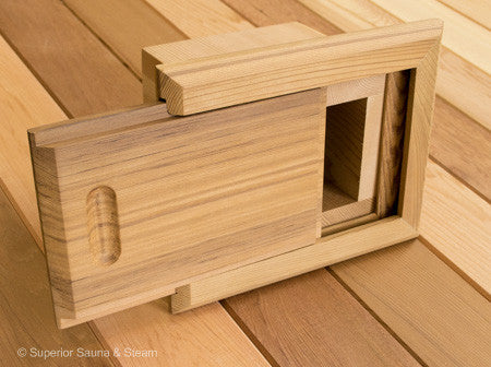 Superior Saunas: Sauna Finishing - Cedar DIY Sauna Finishing Project Kit