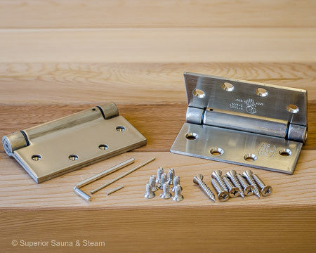 Superior Saunas: Sauna Door Hardware - Sauna Door Spring Hinges