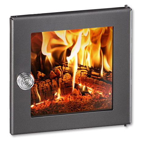 Superior Saunas: Sauna Heater - Glass Door for Designer Series Wood Stove