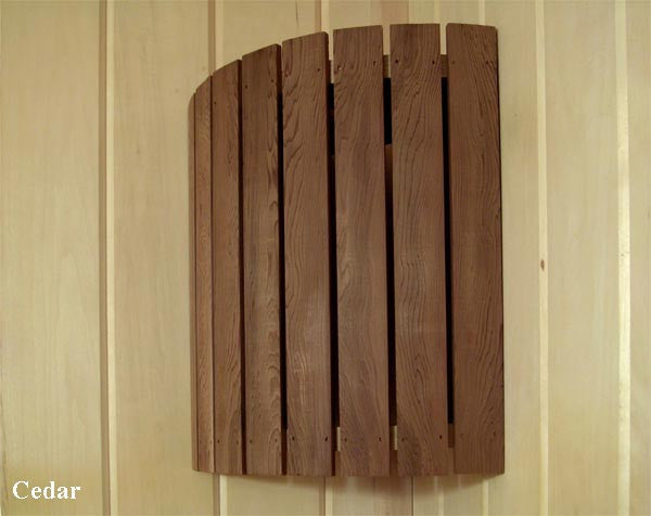 Superior Saunas: Sauna Lighting - Cedar Corner Light and Shade Combo