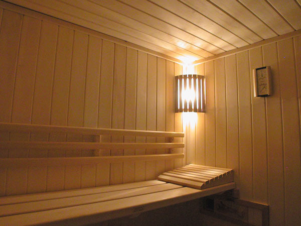 Superior Saunas: Sauna Lighting - Aspen Corner Light Shade