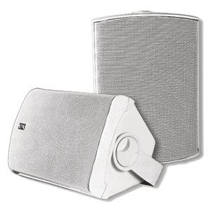Deluxe Sauna Speakers White - Superior Saunas