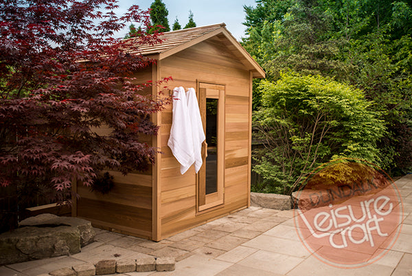 Superior Saunas: Outdoor Sauna Kit - Outdoor Cabin Sauna 4 x 6