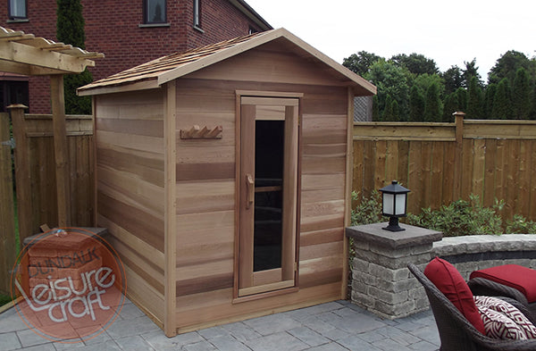 Superior Saunas: Outdoor Sauna Kit - Outdoor Cabin Sauna 5 x 6