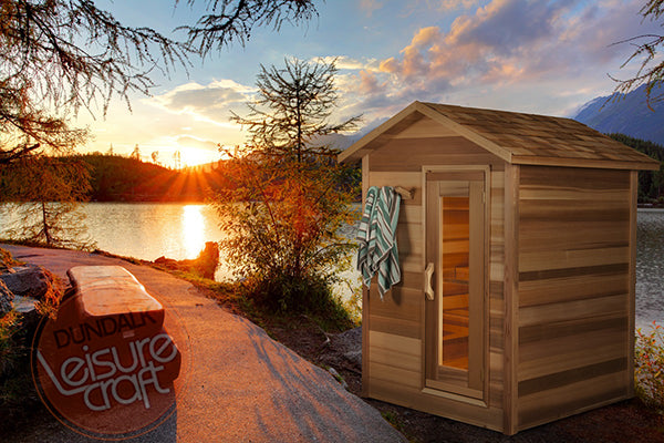 Superior Saunas: Outdoor Sauna Kit - Outdoor Cabin Sauna 6 x 6