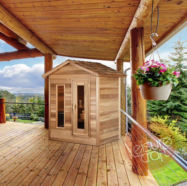 Superior Saunas: Outdoor Sauna Kit - Outdoor Cabin Sauna 5 x 7
