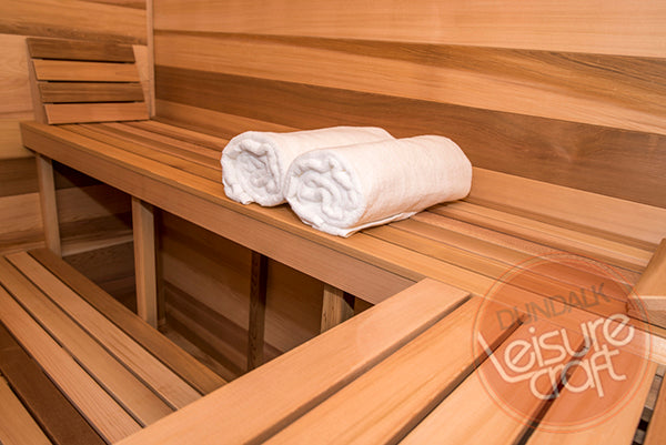 Superior Saunas: Outdoor Sauna Kit - Outdoor Cabin Sauna 5 x 8