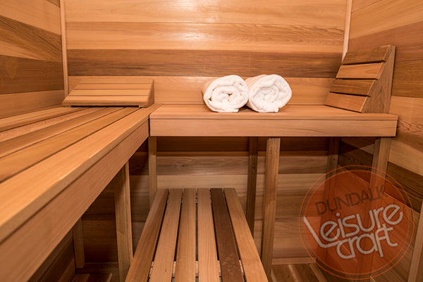 Superior Saunas: Outdoor Sauna Kit - Outdoor Cabin Sauna 6 x 7