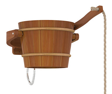 Sauna Pail Shower