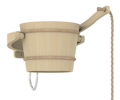 Superior Saunas: Sauna Shower - Sauna Pail Shower