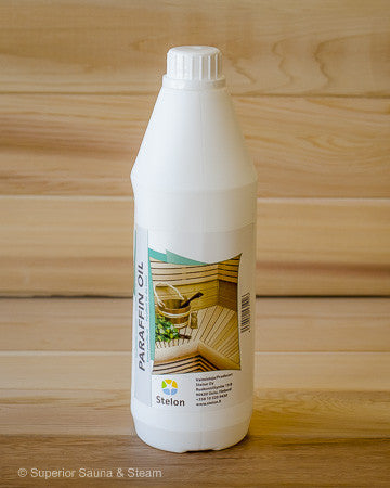 Superior Saunas: Sauna Cleaners - Sauna Wood Oil Treatment 1 Liter