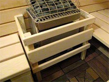 Superior Saunas: Sauna Heater - Polar HNVR 45 Electric Sauna Heater