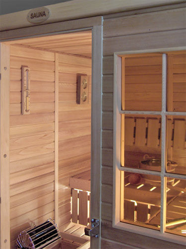 Superior Saunas: Modular Sauna - Red Cedar 3 Person