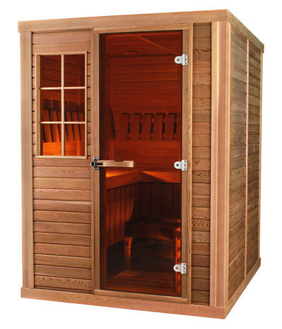 Superior Saunas: Modular Sauna - Cedar 3 Person