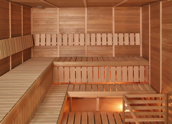 Superior Saunas: Modular Sauna - Cedar 8 Person