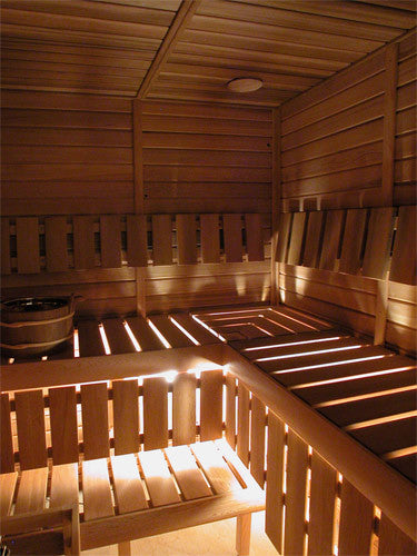 Superior Saunas: Modular Sauna - Red Cedar 8 Person