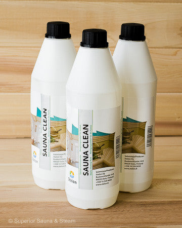Superior Saunas: Sauna Cleaners - Sauna Clean 3 Liters