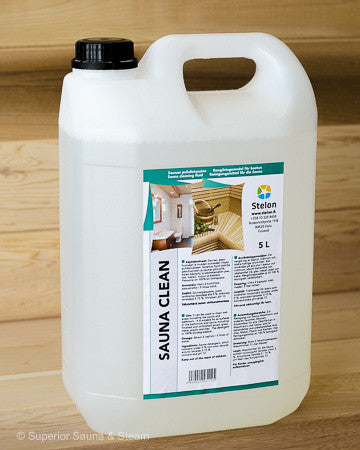 Superior Saunas: Sauna Cleaners - Sauna Clean 5 Liters