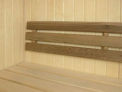 Superior Saunas: Backrest - Standard Backrest Red Cedar