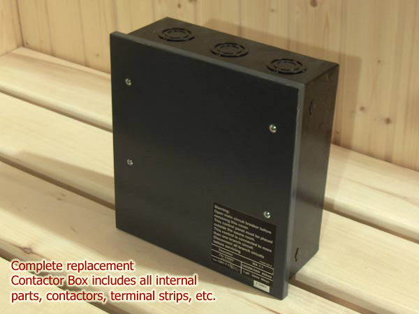 Sauna Control Contactor Box for LA, PRO, OCTA heaters 3 phase