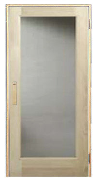 "Superior Saunas: Sauna Door - Full Glass Door Clear Glass ADA Compatible 36"" x 80"""