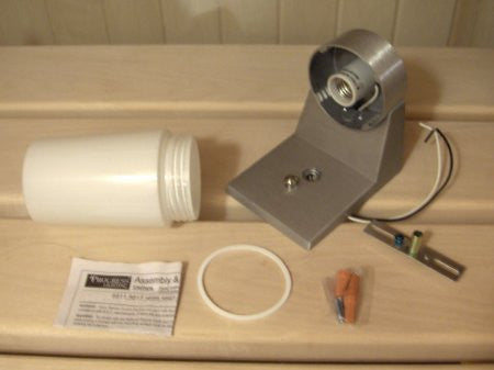 Superior Saunas: Sauna Lighting - Standard Sauna Wall Light