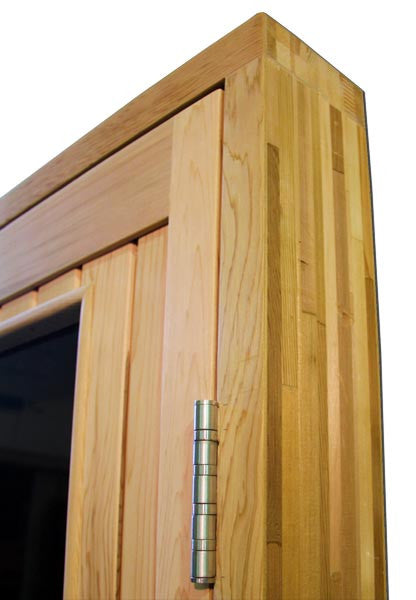 "Superior Saunas: Sauna Door - Cedar Full Bronze Glass ADA Door 36"" x 80"""