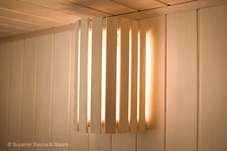 Cedar Compact 180 Light Shade & Sauna Lighting u2013 Superior Saunas azcodes.com